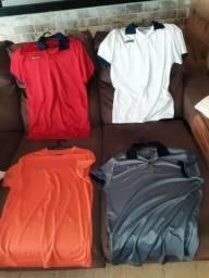 Vendo camisas da LOTTO pouquíssimo usadas. Todas compradas na CENTAURO e NETSHOES