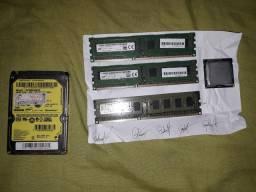 2 memorias novas ddr3 e 4 gb, um HD de notebook de 500 GB e um processador 2,90 ghz