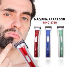 Máquina Aparadora NHC-3780 Aparador Cabelo,Barba, Bigode