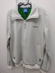 Título do anúncio: Jaqueta masculina Fbird Tt Adidas original verde clara