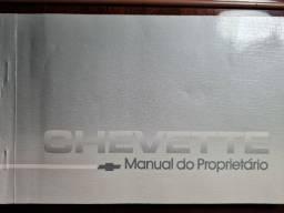Título do anúncio: Manual do Proprietário, Manutenção, Rede Autorizadas Chevette 1984 e Pasta Concessionária