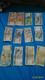 Coleção de dinheiro antigo