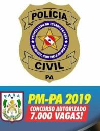 Pacote completo para os concursos PMPA E PCPA