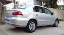 Vw - Volkswagen Voyage 1.6 Completo 2013 G6 PRata PLaca A Airbag Abs Pneus Novos voyage - 2013