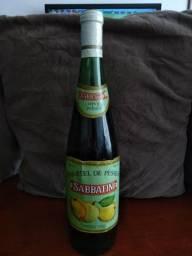 Coquetel de pêssego sabbatine antigo garrafa para colecionador