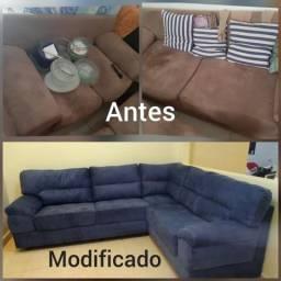 Tapeçaria e reformas de sofá