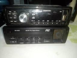 Vendo 2 Rádios automotivos funcionando perfeitamente barato