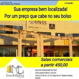 Salas a partir de R$ 450,00 - Avenida Palmas Brasil