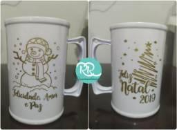 Copos, Taças e Canecas Natal e Ano Novo