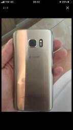 Samsung S7 flat 32gb pra vender rápido !!!