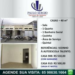 Jardim Guanabara - Casas com 1 Quarto