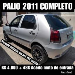 Palio R$ 3.000 entrada + 48X via banco ( Ac moto de entrada ) - 2011