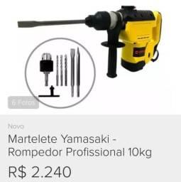 Martelete Yamasaki - Rompedor Profissional 10Kg