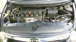 Honda civic lxs flex 1.8 2008 completo - 2008