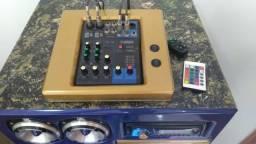 Vendo Bob top, uma caixa trio (Som) própria pra sua área de laser