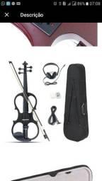 Violino elétrico 4/4 - novo