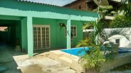 Ótima casa baixa na serra em córrego do ouro com piscina ótimo acabto pronta para morar