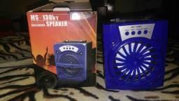 Coxinha de som via bluetooth rádio entrada para Pen drive e SD