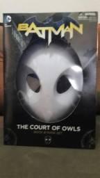 Máscara Batman- A Corte Das Corujas + Livro Hq