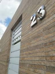 Números p casa em AÇo Inox brilhoso ou branco com preço de fabrica 79 9 9975 5123