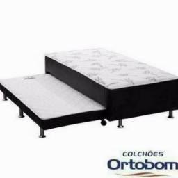 157cec7095 Chame 97035-0669 cama box solteiro com auxiliar Ortobom - Pague na entrega!