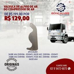 VÁLVULA  DE ALÍVIO DE AR DO COMPRESSOR DE AR ORIGINAL