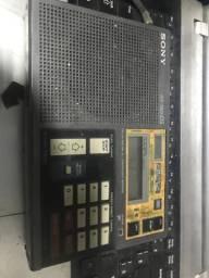 Rádio Sony icf 7600 DS