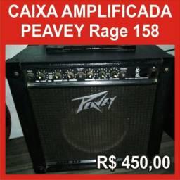 Caixa Amplificada Peavey Rage 158