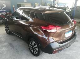 Nissan Kicks SL 2017 Marrom CVT Automático TOP Vendo ou Troco Particular - 2017