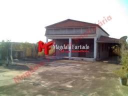 PRCod2200 Casa com terreno perto do atacadão Com Ótimo espaço frontal em Unamar