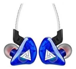 Fone de Ouvido - Retorno de Palco -QKZ CK5-Azul