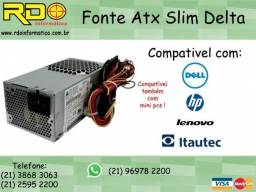 Fonte Slim Delta Electronics 250W - Selo 80 Plus Gold