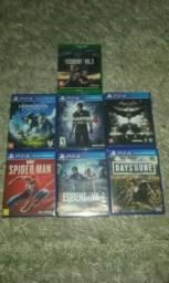 Vendo games ps4 é Xbox one