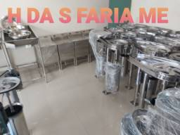 Fabrica de Maquinas para açaí em aço inox. linha profissional completa