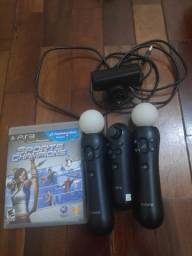 Kit move completo p PS3 ou ps4