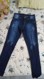 Calça jeans e bermuda jeans