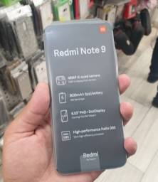 Vendo Xiaomi Redmi Note 9 com 128 gb aberto só pra foto<br><br>Zero!