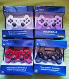 Controles PS3 - Novos. Parcelo Cartão