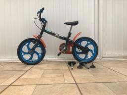 Título do anúncio: Bicicleta Caloi hotwheels