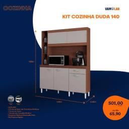 Título do anúncio: Cozinha Duda 140 5 portas e 1 gavetas