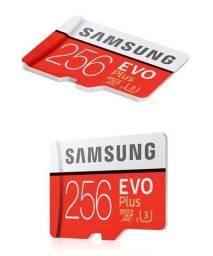 Título do anúncio: Cartão de Memória Original Samsung Evo Plus micro sd256gb