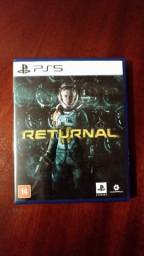 Título do anúncio: Returnal - PS5 (troco por Demon's Souls)