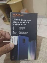 Motorola e7 plus zerado 1 mês de uso