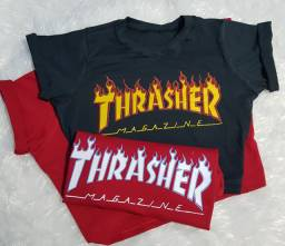 Cropped thrasher magazine camisa