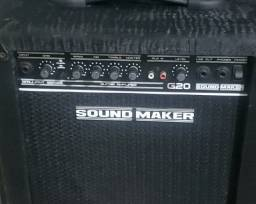 Título do anúncio: Cubo Amplificador Sound Maker G20