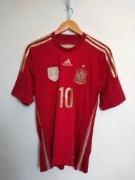 Camisa Espanha Home 2014