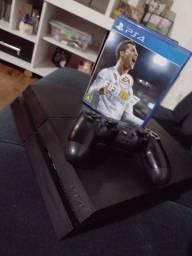 Título do anúncio: PS4 zerado , muito pouco uso , 500 giga