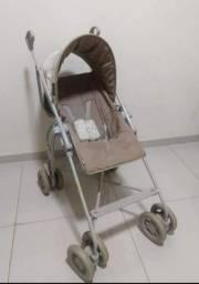 Carrinho de bebê para passeio Galzerano Campora Bege