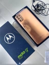 Título do anúncio: Smartphone Motorola Moto G9 Plus 128GB Ouro Rosê