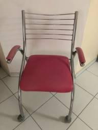 Título do anúncio: Cadeira escritório rosa